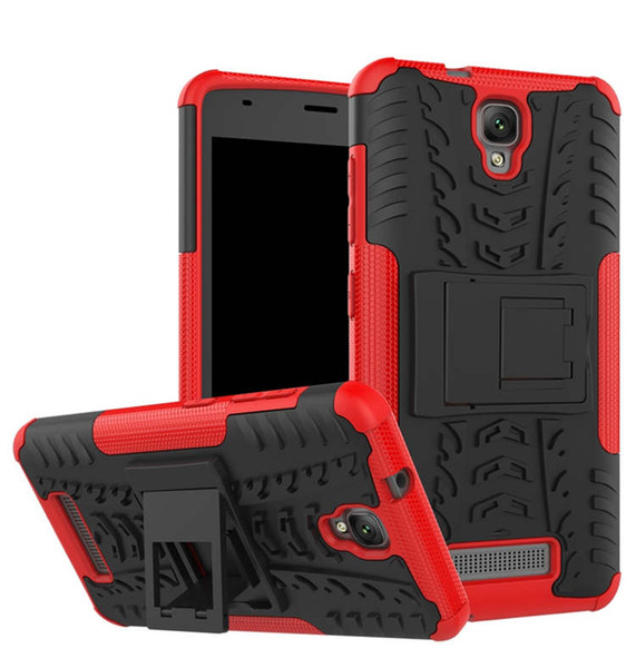 For ZTE Blade L5 Rugged Hybrid Armor Heavy Duty Hybrid TPU Stand Impact Plastic Case For ZTE Blade L5 Hard Shock Proof Cover
