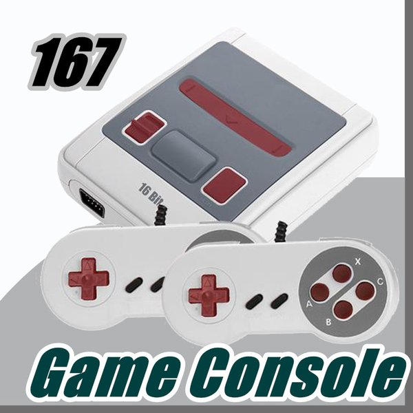 Super MINI MD Video Game Console SG-167 16 Bit Handheld Game Player For Sega J-JY