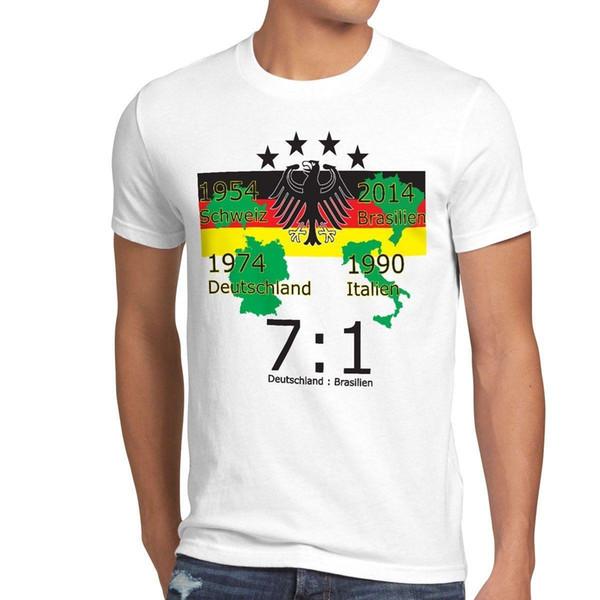 4 Stern Wm 2014 Herren T Shirt Deutschland Brasilien Fussball Sport Em Frankreich Funny T Shirt Sites Crazy T Shirt Sayings From Yubin2 27 6