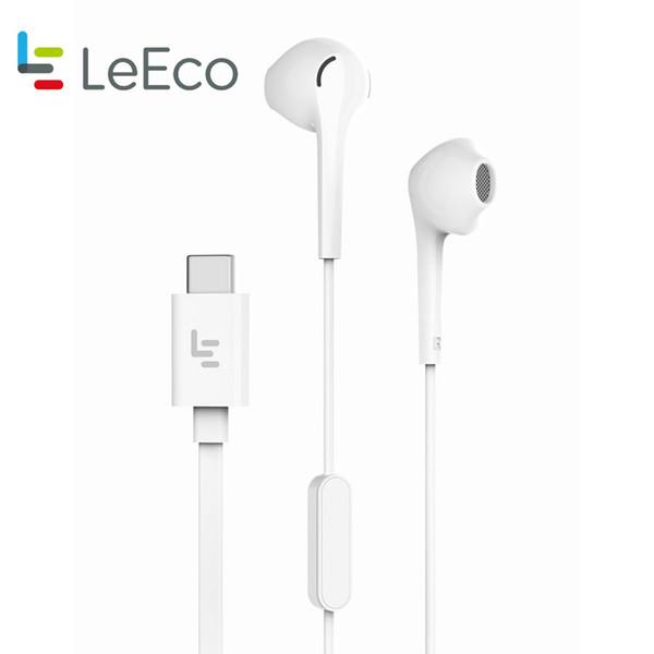 Letv LeEco CDLA Auriculares Tipo-C Plug HiFi Chip incrustado continuo Digital Lossless Audio Gold Galved Half-in-ear VS Mi6