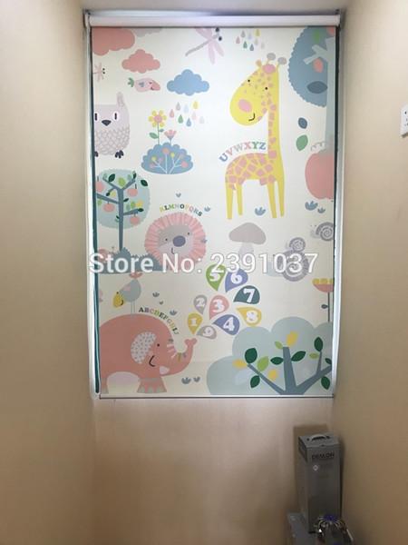 Grosshandel Fenster Cartoom Rollo Stoff Rollos Neueste Cartoon Paerned Kinder Rollos Cartoon Fenster Vorhang Gedruckt Von Linita 101 31 Auf