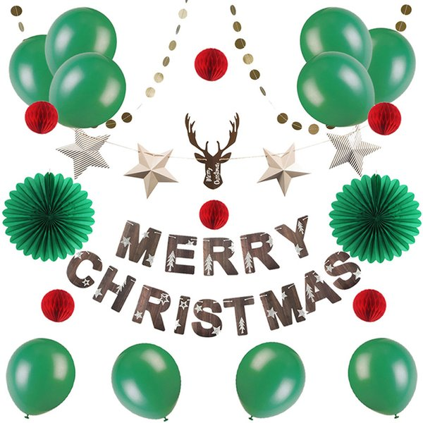 Christmas Party 2019 Clipart.2019 Merry Christmas Party Decorations For Home Christmas Ornament Navidad Reindeer Head With Star Garland For Happy New Year 2019 From
