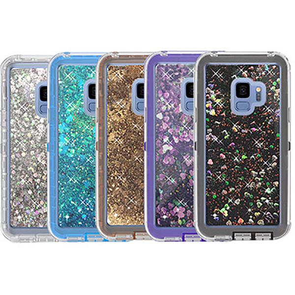 cover samsung s9 glitter liquido