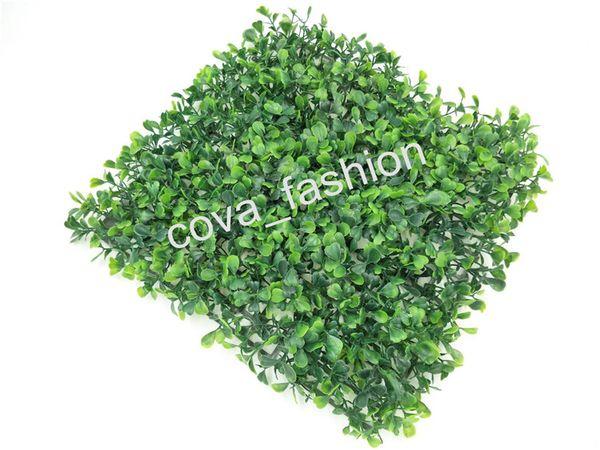 "best selling Artificial Turf Artificial Grass Mat Pet Food Mat 9.8""x9.8"" Plastic Fish Tank Fake Grass Lawn Micro Landscape"