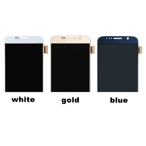For Samsung galaxy S6 G920 LCD Display Touch Screen Digitizer G920i G920P G920f G920V G920A G920W8 Mobile Phone LCDs Replacement