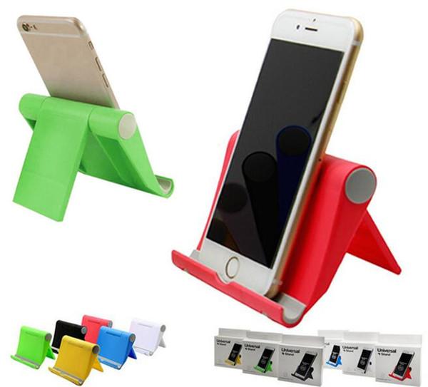 Bunter tragbarer Universaldesktop-faltbarer justierbarer Winkel-Stand-Halter für intelligentes Telefon Ipad Samsungs iphone Tablet