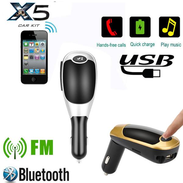 HIPERDEALE BT-X5B Wireless Bluetooth LCD MP3 Player Car Kit SD MMC USB FM Transmitter Modulator High Quality New Arrivals #2