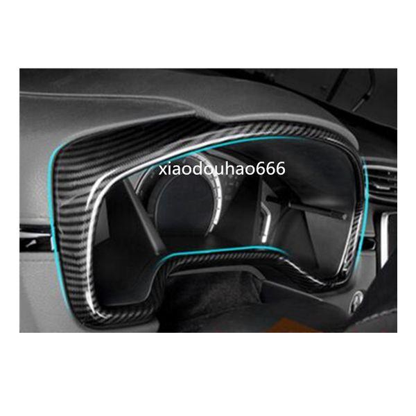 Di alta qualità Per Honda CRV CR-V 2017 2018 car styling ABS chrome guarnire rivelatore cruscotto meter Instrument Panel calibro telaio stampaggio 1 pz