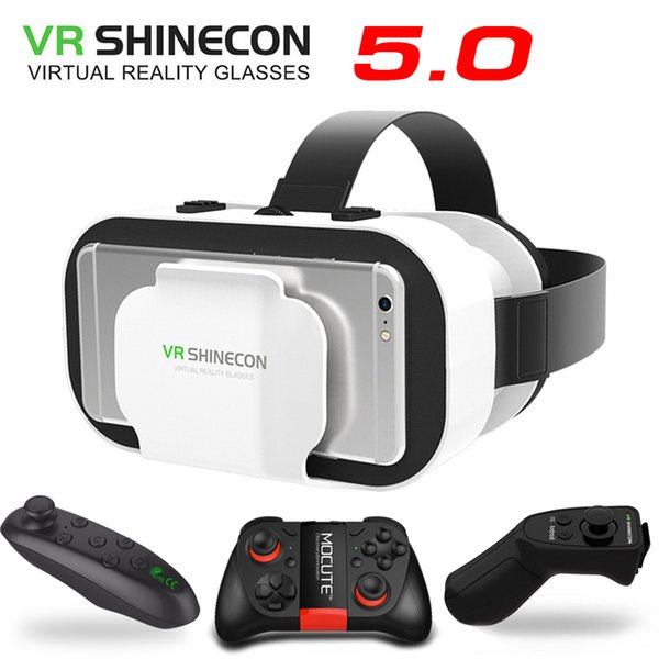 8c01d09f062 VR 5.0 Glasses Virtual Reality VR Box 3D Glasses For 4.7-6.0 inch Phone