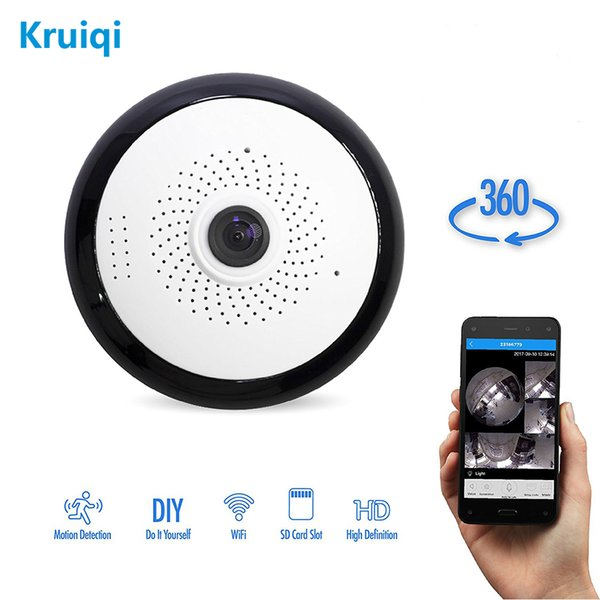 Kruiqi P2P Wifi IP Camera HD 960P Wireless Camera H 264 Mini Webcam 1 3MP  Security Free IOS & Android APP Cctv Cameras For Sale Cctv Cameras Ip From