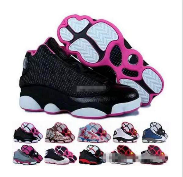 Cheap 13 XIII Basketball Shoes For Women,High Quality Woman 13s Athletic Sport Basket Ball Sneakers Trainers Shoe Size Eur 36-40