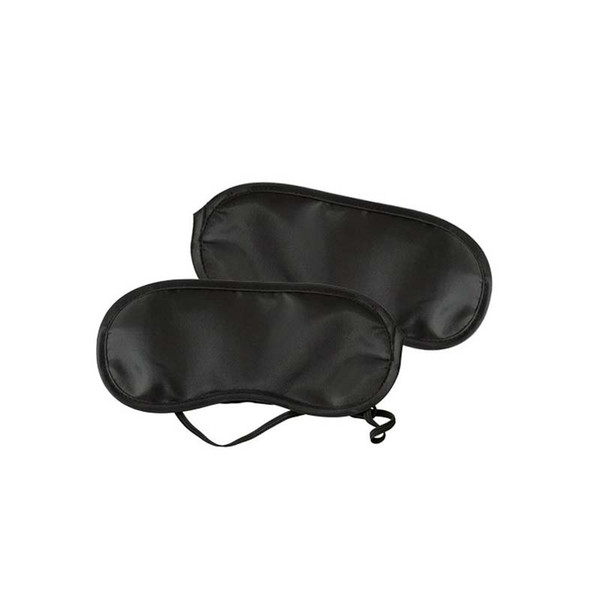 top popular 2000pcs Cartoon Sleeping Eye Mask Black Eye Shade Sleep Mask Black Mask Bandage on Eyes for Sleeping Health Care 2019