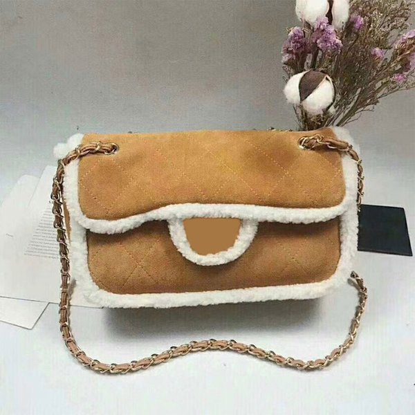 Autumn and winter new! Popular fashion designer luxury ladies small chain shoulder bags plaid messenger bag women crossbody size:21cm