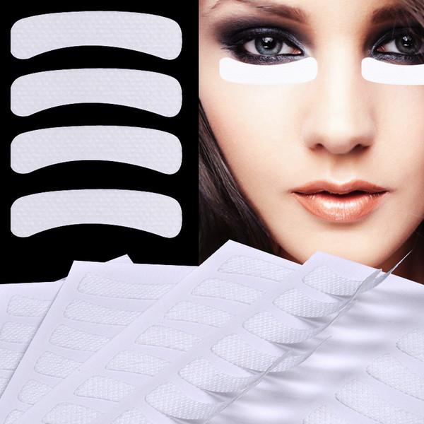 100 Pcs White Eye Cílios Extensão Tecidos Pads Adesivos Adesivos Fita Adesiva Maquiagem Ferramenta de Beleza