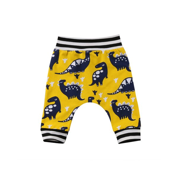 2018 Fashion New Kids Baby Boy Girl Cotton Cute Dinosaur Long Pants Casual Leggings Trousers Bottoms Outfit Spring Fall 1-5Y