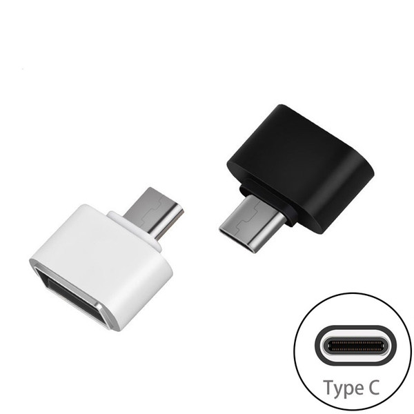 best selling Type C USB 3.0 OTG Adapter Type-C Male To Female USB OTG Converter For App 5s plus 4C Samsung S8 Nexus 6P