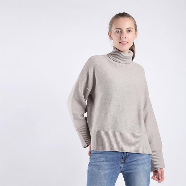 Compre Nuevo Estilo Abrigo De Suéter De Moda Casual Abrigo De Mujer ...