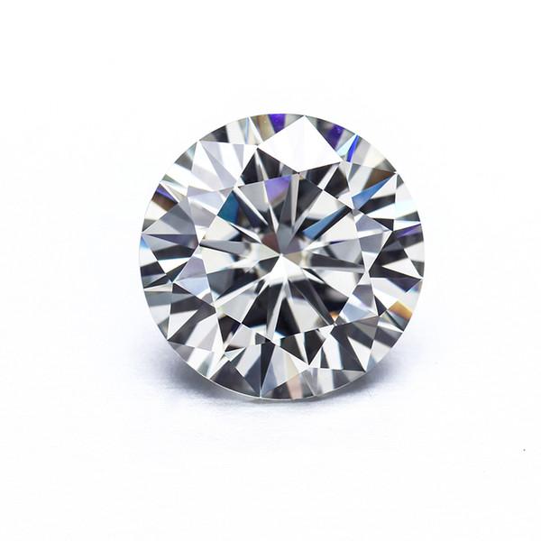 Cheester Gems Round Brilliant Cut 1.5ct 7.5mm IJ Color Lab Moissanites creado.