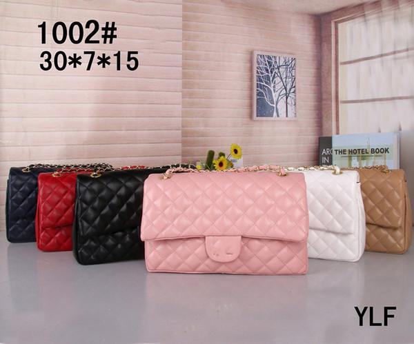 2019 Hot moda sacos de ombro das mulheres cadeia de luxo crossbody bag bolsas famoso designer bolsa feminina mensagem saco tote size30x7x15cm 1002