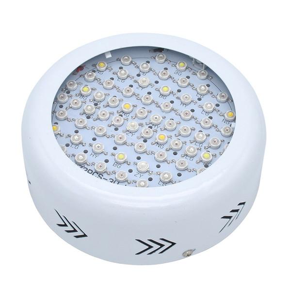 Full Spectrum 216W UFO Led Grow light 72x3w AC 85-265V Lampada ad alta potenza idroponica per piante da serra