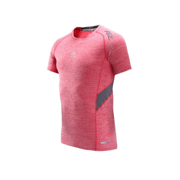 Sports T-shirt running short sleeved body-building tights breathable, fast drying, moisture absorption and perspiration