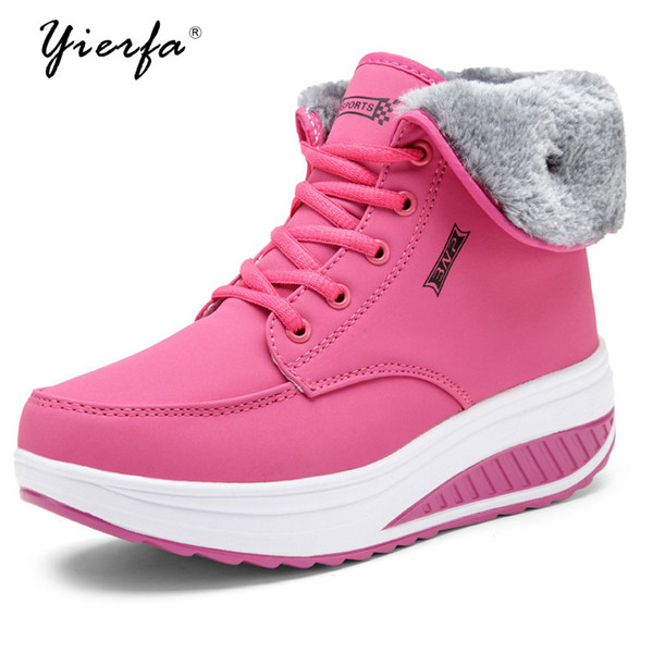 2018 Women Shoes Winter Snow Boots Casual Ankle Boots Warm Winter Shoes Snow Women Shoe Plus Size