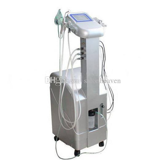 6 in 1 Multifunctional Oxygen Facial Machine Oxygen Jet Peel Oxygen Facial Mask BIO Skin Lift Vacuum Therapy Machine For Skin Rejuvenation