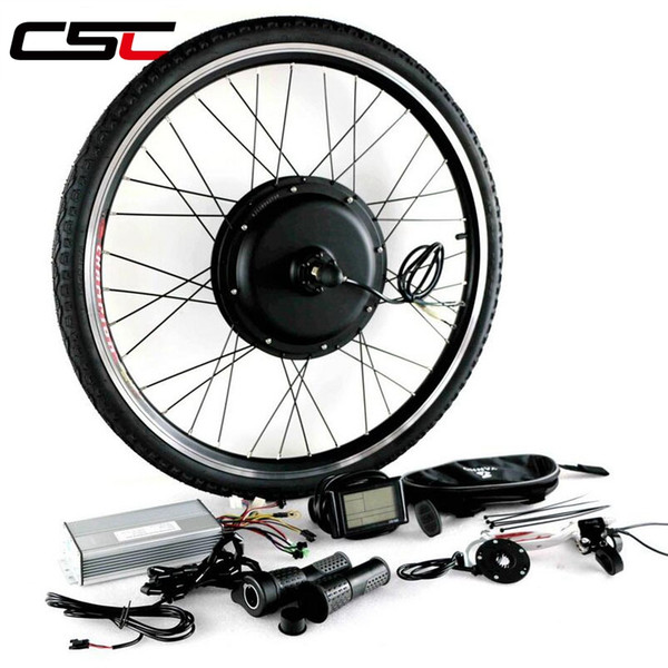 EBIKE 48V 500W Motor Wheel Kit de vélo électrique Kit de conversion électrique pour 20-29in 700C Moteur de roue arrière