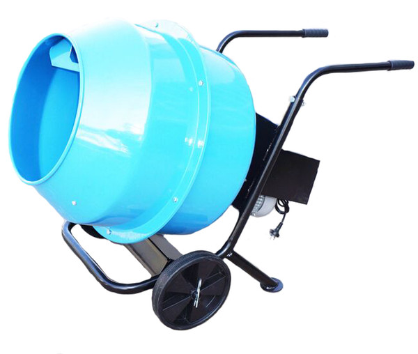 Best Wheel Barrow&Stand Industrial Concete Mixers/Farm Feed Mixer  Alternative Small Portable Mixer Industrail Mixers Capacity 120l Power 370w  Under