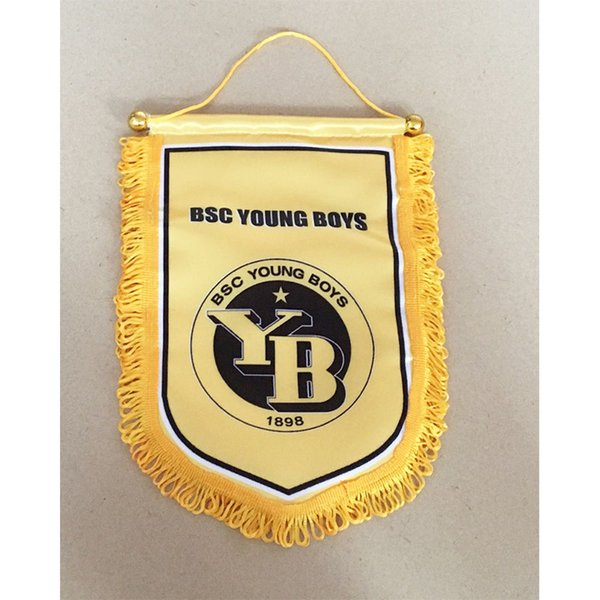 Flag of Switzerland BSC Young Boys Handing flag 30cm*20cm Size Decoration flag banner for home & garden Festive