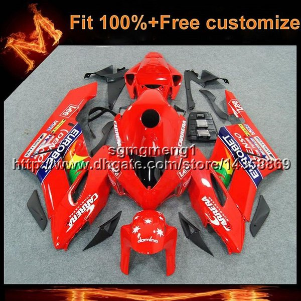 23colors+Gifts Injection mold red star Body Kit motorcycle cowl for HONDA 2004-2005 CBR1000RR 04 05 ABS Plastic Fairing