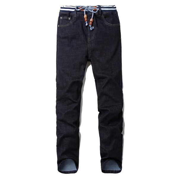 Big Size Plus 28-40 42 44 46 48 2018 New Men Jeans Classic Men's Clothing Casual Denim Trousers Men Regular Blue Jean Pants Male