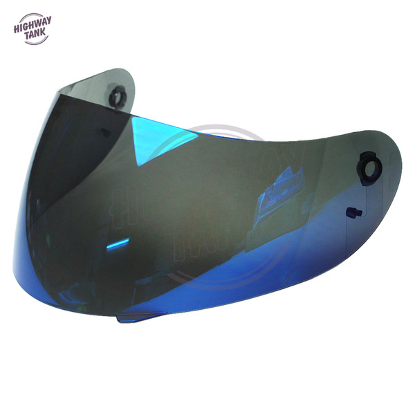new 1 Pcs Blue motorcycle helmet visor lens Full Face Shield case for AGV K3 K4 Visor Mask (Not for K3-SV)