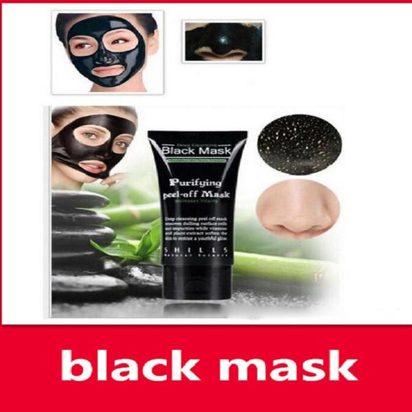 maschera facciale punti neri