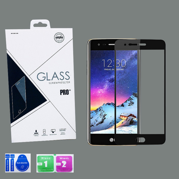 top popular For Revvl 4 5G LG Stylo 6 K51 Aristo 5 Moto E7 Full Cover Tempered Glass 3D Screen Protector for Samsung A21 A11 A01 A20 metropcs 2020