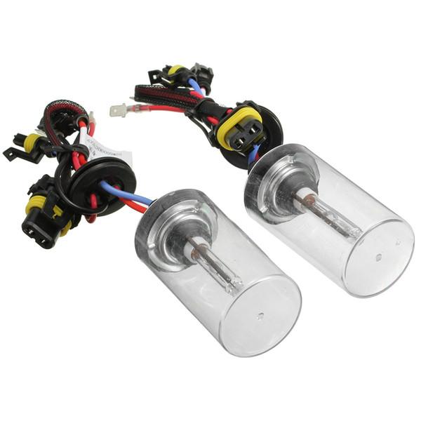 Nouveau 1 paire 12 V 55 W H7 phare à base métallique pour ampoules en céramique xénon DHI lumière voiture kit de conversion de voiture 6000k