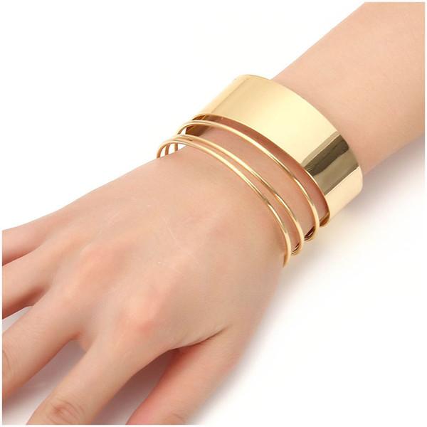 Naomy &Zp Brand Cuff Bracelets For Women Vintage Love Bangle Bohemian Multilayer Wide Bracelets &Bangles Femme Wholesale Fashion