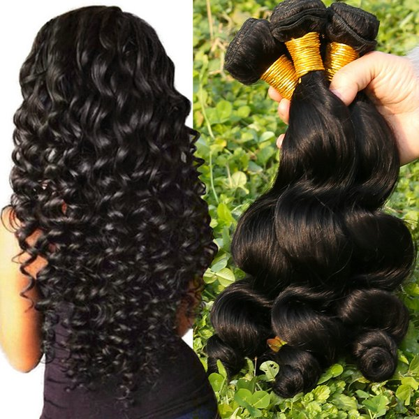 Dhgate.com in russian New Arrival Raw Virgin hair 100% Unprocessed Natural Russian Hair double weft bundles