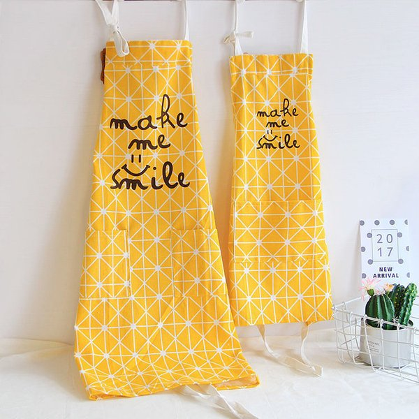 Funny Cartoon Ins baby Kids Aprons For Adult And Child Parent-child Housework Apron Kitchen Cookin Cute Apron 9 design 20pc WN405