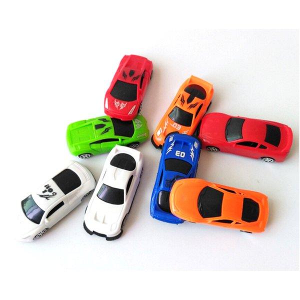 2017 Nouveau 6 Pcs / set mignon Mini Toy Cars Meilleur Cadeau De Noël D'anniversaire De Voiture Ensemble Enfants Véhicule Jouets Enfants Jouets Éducatifs