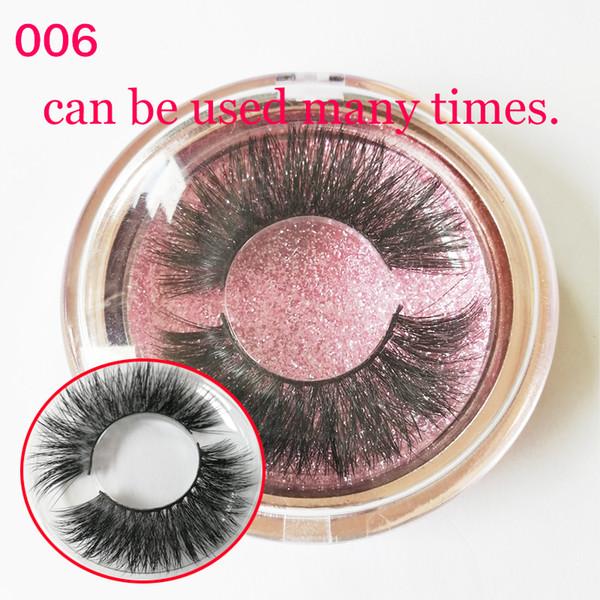 Hot sell 100% Real Mink Strip False Eyelash Long Individual Eyelashes Mink Lashes free shipping GR146