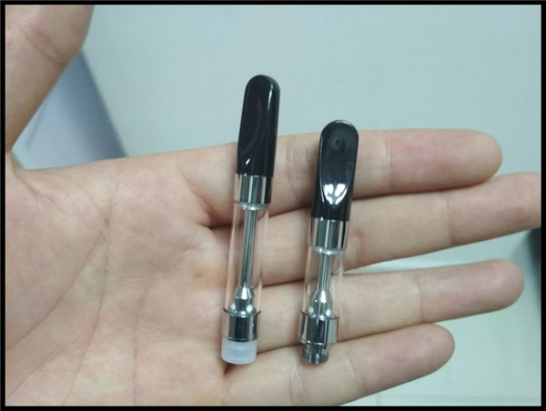 ceramic coil empty vape glass cartridge mini e cigarette 510 atomizer bud touch pen e cigarette honey oil vaping device glass tank 2018