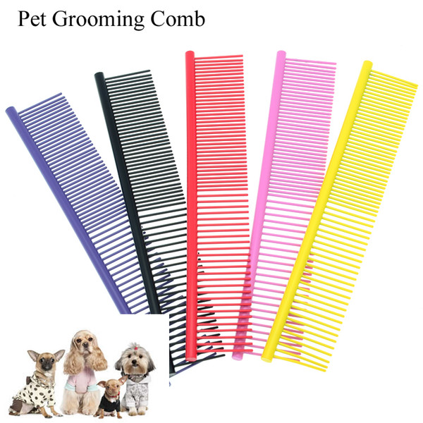 Meisha Stainless Steel Pet Grooming Hair Comb for Shaggy Cat Dog Professional Puppy Cleaning Hair Fur Trimmer Brush Comb Beauty Tools ZN0016