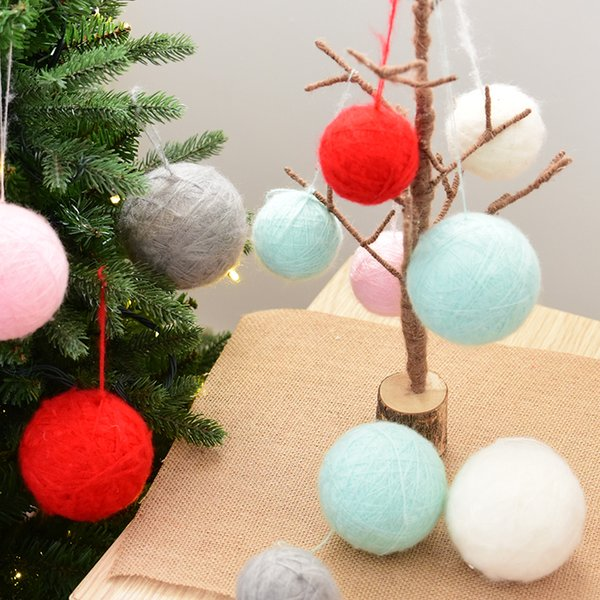 I Want A Hippocampus For Christmas.Nuchi Hanri Wind Hippocampus Wool Christmas Ball Ornament Christmas Tree Decoration Christmas Outlets Christmas Party Decoration From Huayama 27 24