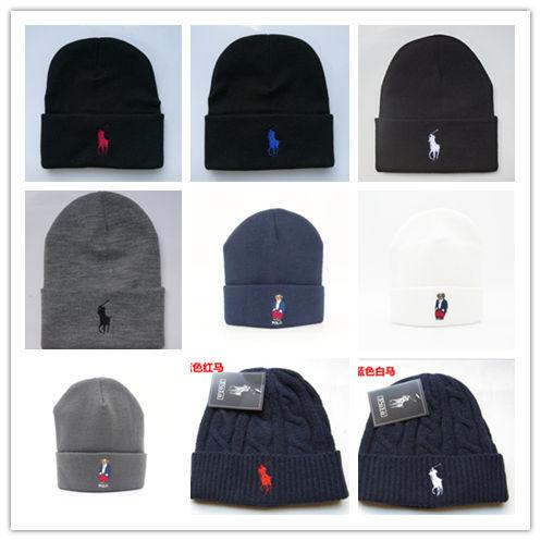 Newest Hot scarf hot tide brand polo women unisex beanies hight quality pom-pom skull caps hats with original tag girl friend gift