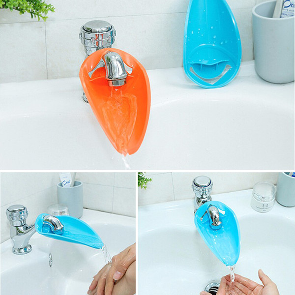 2019 2018 Cute Bathroom Sink Faucet Chute Extender Crab Children Kids  Washing Hands Bathroom Water Faucet From Tracylu001, $16.08 | DHgate.Com