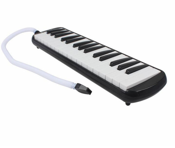 top popular 32 Key Melodica Harmonica Electronic Keyboard Mouth Organ With Handbag Free Shipping 2021