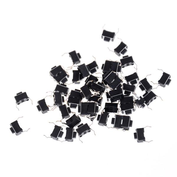 30 adet 2 Pin DIP Işık Dokunmatik 3 * 6 * 4.3mm Tuşları Klavye Paneli PCB Anlık Dokunsal Tact Push Button Mikro Anahtarı Toptan