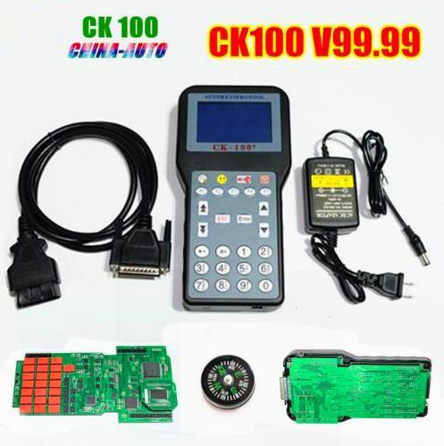 Promotion The Newest Generation V99.99 CK100 Auto Key Programmer SBB CK 100 With Multi-language OBD2 Car Key Programmer CK-100
