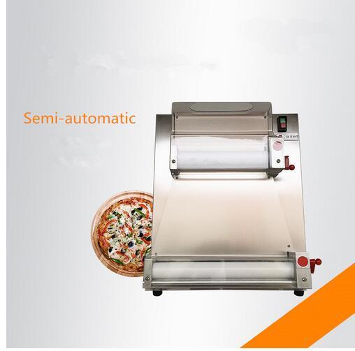 Máquina semiautomática y eléctrica de la masa de la pizza / del rodillo de la pizza, máquina de hacer la pizza 220V